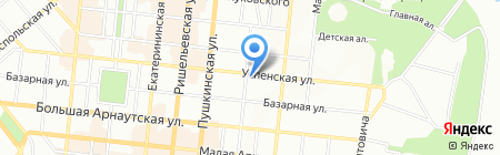Маріне на карте Одессы