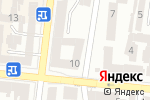 Схема проезда до компании Глобус Тревел в Одессе