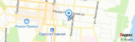 Природні ліки на карте Одессы