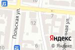 Схема проезда до компании Мой город в Одессе