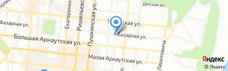 Clear на карте Одессы