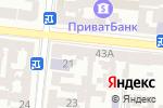 Схема проезда до компании ЮМИС-ЭЛЕКТРО в Одессе