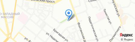 Банкомат КБ ПриватБанк на карте Одессы