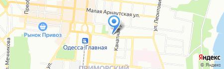 Эпсилон Меритайм Сервисез на карте Одессы