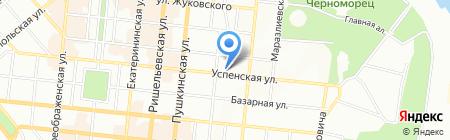 Сибирское здоровье на карте Одессы