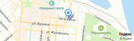 Маерск Украина ЛТД на карте Одессы