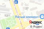 Схема проезда до компании Floristella в Одессе