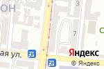 Схема проезда до компании Автострахование для Вас в Одессе