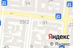 Схема проезда до компании Батькiвщина в Одессе