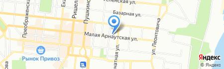 TUI на карте Одессы