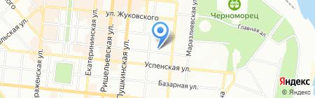 Премьер Паркет на карте Одессы