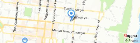 Artкерамика на карте Одессы