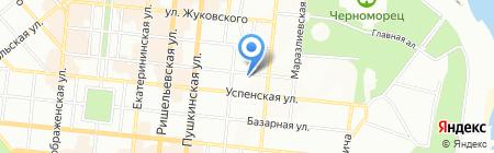 Овасак на карте Одессы