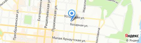 Детский сад-ясли №250 на карте Одессы
