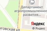 Схема проезда до компании Цветы для Вас в Одессе