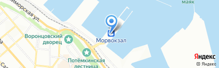Банкомат Марфин Банк на карте Одессы