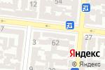 Схема проезда до компании Кенсай в Одессе