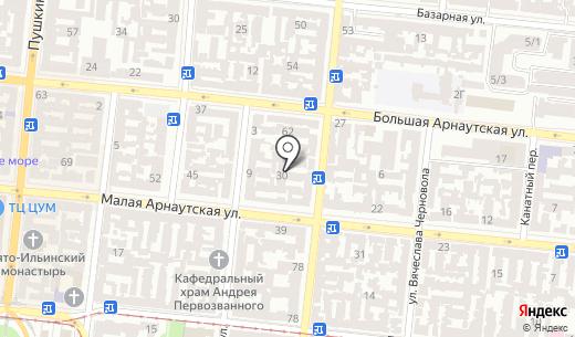 ETStamp. Схема проезда в Одессе