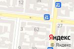 Схема проезда до компании Юсс-Тур в Одессе
