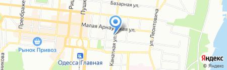 Баччо на карте Одессы