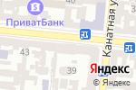 Схема проезда до компании Бейкер Тилли Украина в Одессе