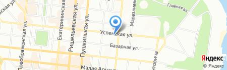 Судоремонт на карте Одессы