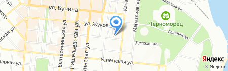 Онисс на карте Одессы