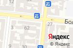 Схема проезда до компании Никор в Одессе