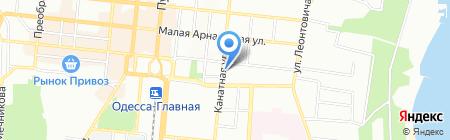 Лидер Одесса на карте Одессы