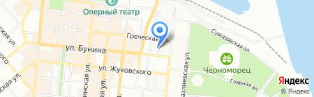 Алвона Пленет на карте Одессы