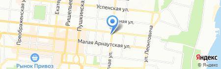 Юсс-Тур на карте Одессы