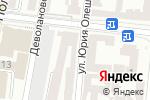Схема проезда до компании LETO Travel+ в Одессе