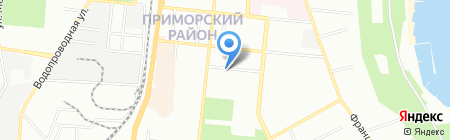 Кедр на карте Одессы