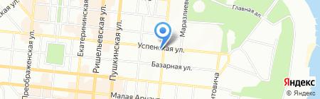 Одесский мореходный менеджмент на карте Одессы