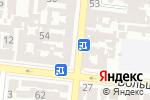 Схема проезда до компании Технология здоровья в Одессе
