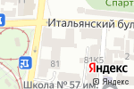 Схема проезда до компании Град в Одессе