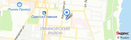 Организация ветеранов Одесской области на карте Одессы