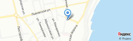 Одесская общеобразовательная школа №106 I-III ступеней на карте Одессы