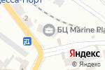 Схема проезда до компании Мегаполіс в Одессе