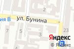 Схема проезда до компании Modnakasta.ua в Одессе