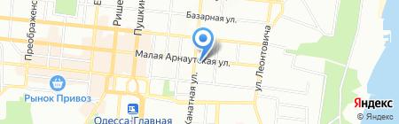 ВУСО на карте Одессы