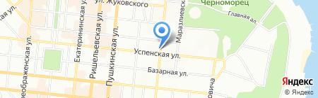 Одесская общеобразовательная школа №39 I-III ступеней на карте Одессы