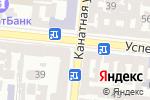 Схема проезда до компании Информационно-правовые системы управления в Одессе