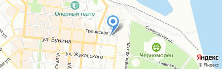 Trattoria Soldi на карте Одессы
