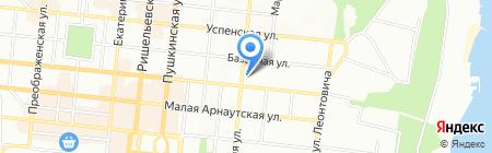 Тетра на карте Одессы