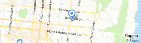 Кимс на карте Одессы