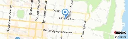 Интеграл на карте Одессы