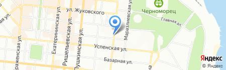 Фертелита Групп на карте Одессы