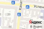 Схема проезда до компании GiftLab в Одессе