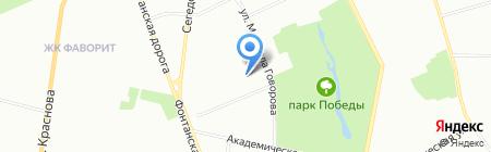 Домашний очаг на карте Одессы